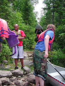 Boundary Waters Venture Scout trip 34 071404