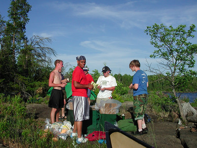 Boundary Waters Venture Scout trip 9 071204
