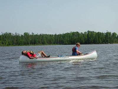 Boundary Waters Venture Scout trip 25 071404