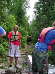 Boundary Waters Venture Scout trip 35 071404