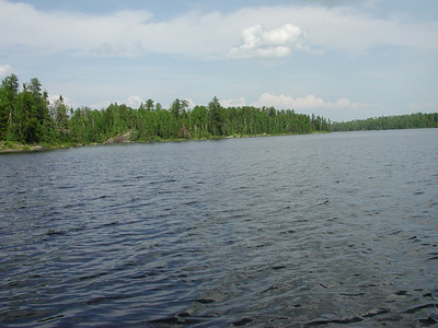 Boundary Waters Venture Scout trip 39 071404