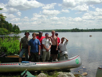 Boundary Waters Venture Scout trip 4 071204