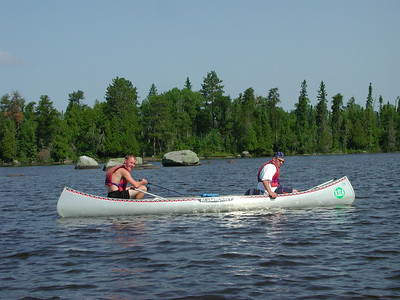 Boundary Waters Venture Scout trip 26 071404