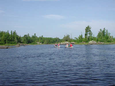 Boundary Waters Venture Scout trip 45 071504
