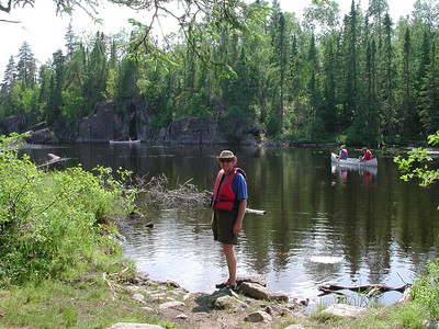 Boundary Waters Venture Scout trip 38 071404
