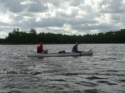 Boundary Waters Venture Scout trip 11 071304