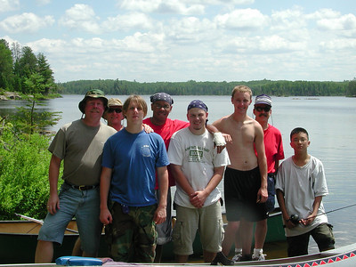 Boundary Waters Venture Scout trip 5 071204