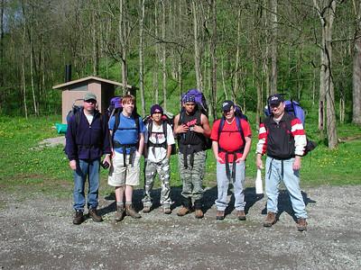 burr oak backpacking 042404 2