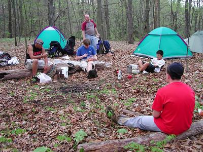 burr oak backpacking 042404 5