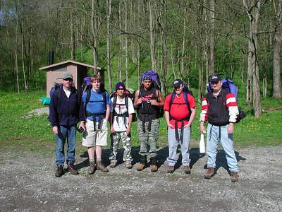 burr oak backpacking 042404 3