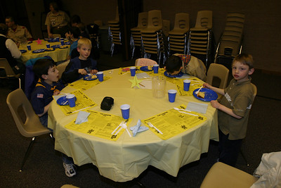 Cub Pack Meeting & Award Banquet 2-28-2006