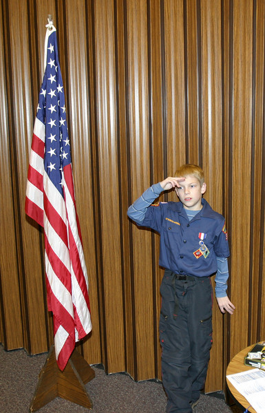 Cub Scout Pack Meeting 11-29-2005