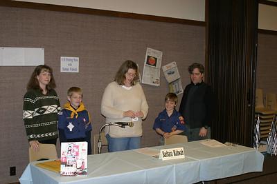 Cub Scout Bear Badge 4-27-2005