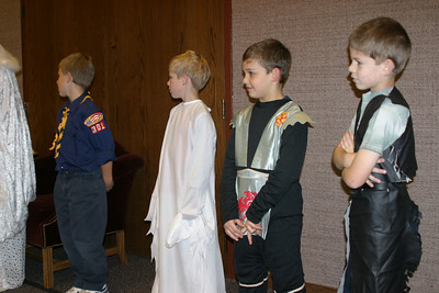 Cub Scout Halloween 10-29-2003