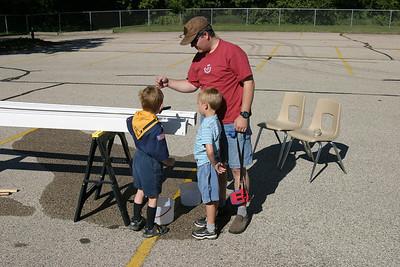 Cub Scout Raingutter Regatta 8-06-2005