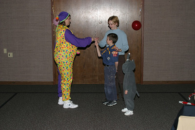 Cub Scouts Meeting Fun 10-27-2004