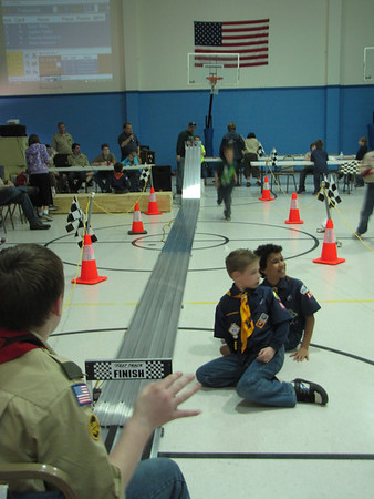 2013_03_16 Pack 895 Pinewood Derby