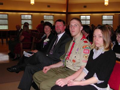 Eagle Scout Cerimony