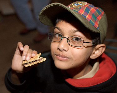 "Rishi definitely enjoys his ""chocolate graham""."