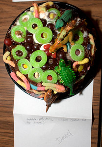 Look out for dinosaurs when eating this prehistoric creation.