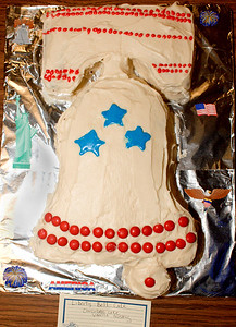 That's a real bell ringer of a cake!