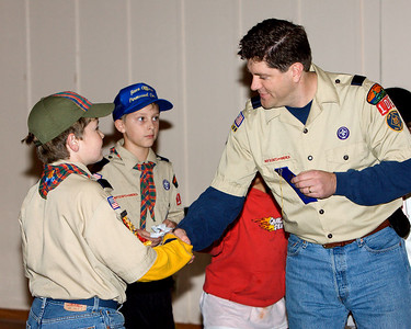 Scott had the fastest Webelos 2 car.