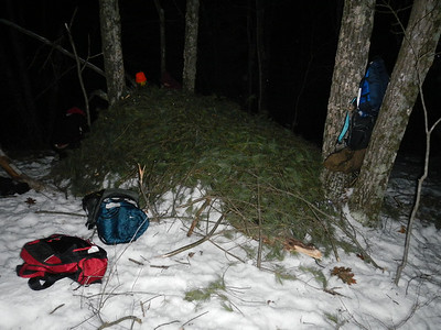 3-02-2012 Winter Camp out - Black River Forest