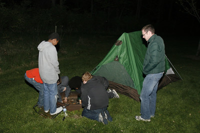 4-27-2012 Lake Farm Park Campout