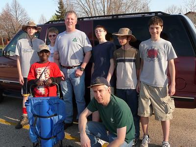 Stewart Olipant's Scouting Career