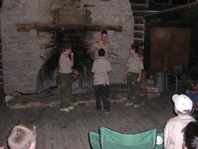 columbus scout camp trip 12 041203