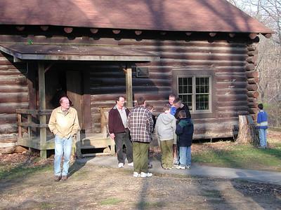columbus scout camp trip 2 041203