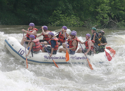 Boy Scout whitewater rafting 061603 12