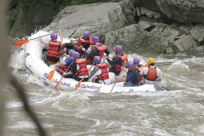 Boy Scout whitewater rafting 061603 08
