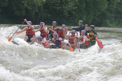 Boy Scout whitewater rafting 061603 11