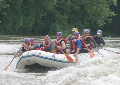 Boy Scout whitewater rafting 061603 01