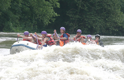 Boy Scout whitewater rafting 061603 09