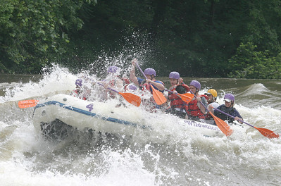 Boy Scout whitewater rafting 061603 04