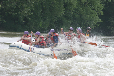 Boy Scout whitewater rafting 061603 10