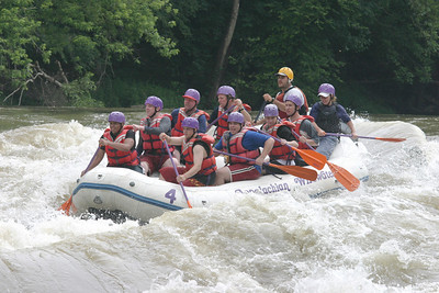Boy Scout whitewater rafting 061603 03