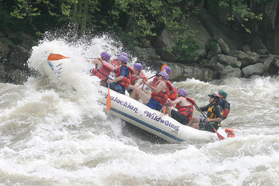 Boy Scout whitewater rafting 061603 14