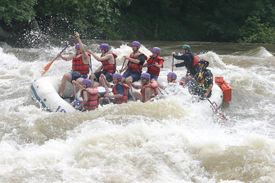Boy Scout whitewater rafting 061603 13