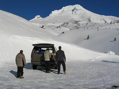 Snow Caving - 2008