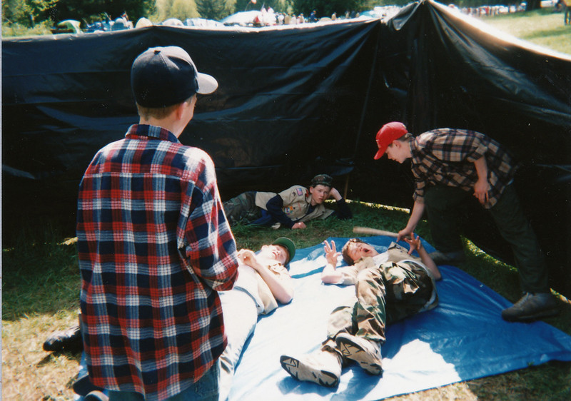 Camporee,  Scott Baird, Eric Gale, John Perrin, Richard Manwaring, Kenny Merrill