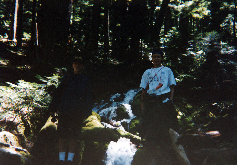Scott Baird, Richard Manwaring, Hike to Hunts Lake