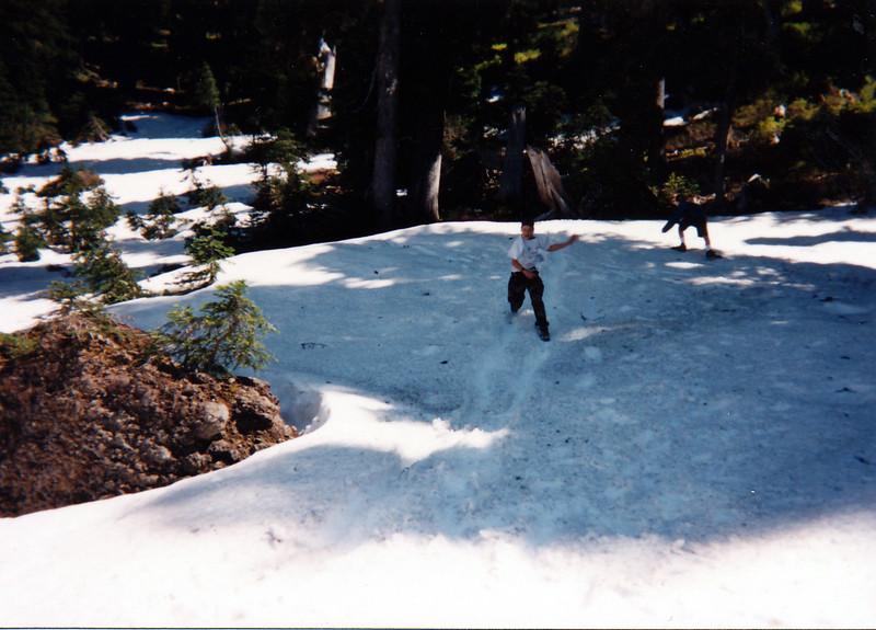 Scott Baird, Richard Manwaring, Hike to Hunts Lake
