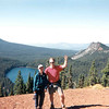 Mowich - On top of Red Butte, Scott Baird, Mike Baird