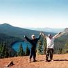 Mowich - On top of Red Butte, Scott Baird, Richard Manwaring