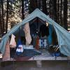 Camp Baldwin - Mike Baird's tent