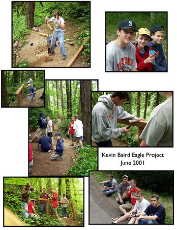 2001 Kevin Baird Eagle Project