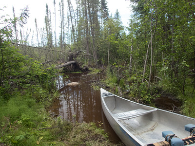 Hard slog through Heartbreak portage